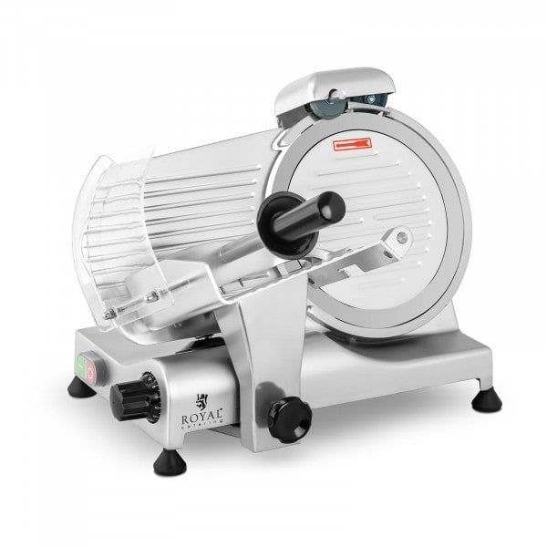 Aufschnittmaschine - 250 mm - bis 12 mm - 320 W