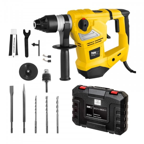 Bohrhammer - 1.800 W - 900 U/min - 4.000 S/min