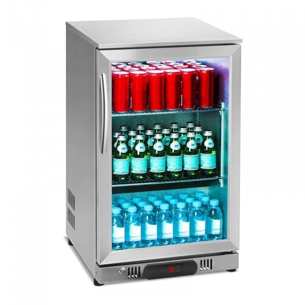 B-ware B-Ware Getränkekühlschrank - 108 L - Edelstahlgehäuse