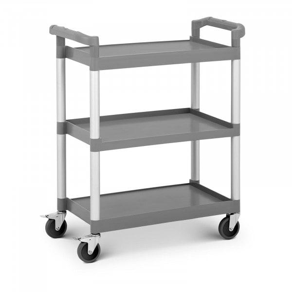 Servierwagen Kunststoff - 3 Borde - bis 60 kg