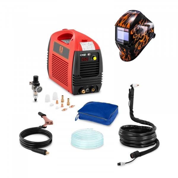 Schweißset Plasmaschneider - 50 A - 230 V - Basic + Schweißhelm – Firestarter 500
