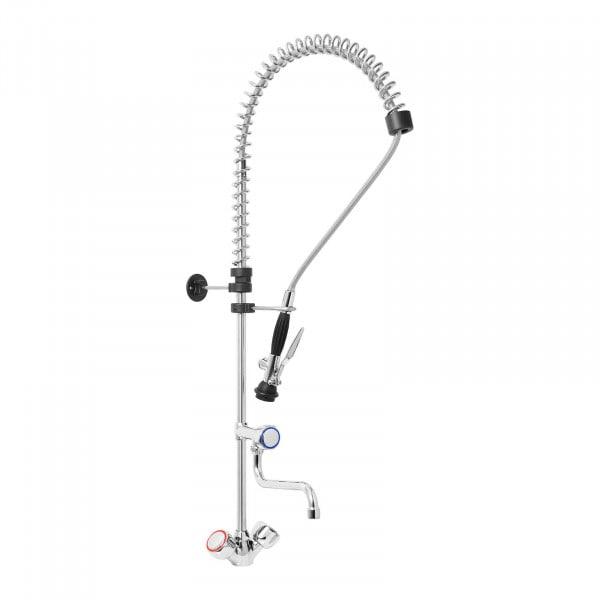 Einloch-Geschirrwaschbrause - verchromtes Messing - Wasserschlauch 1000 mm - Wasserhahn 250 mm