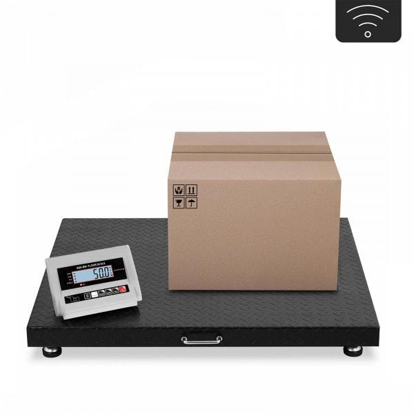 B-WARE Bodenwaage - 3 t / 1.000 g - LCD - wireless