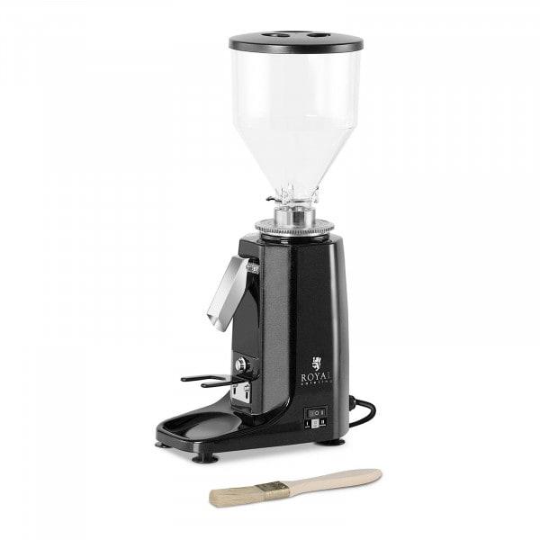 Kaffeemühle - 200 W- 1000 ml - Aluminium- schwarz