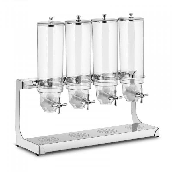 Müslispender - 4 x 3,5 l - 4 Behälter