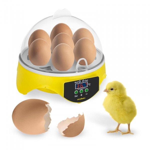 Brutapparat - 7 Eier - inklusive Schierlampe