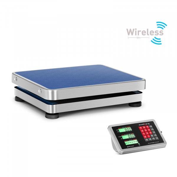 Plattformwaage - 150 kg / 20 g - wireless