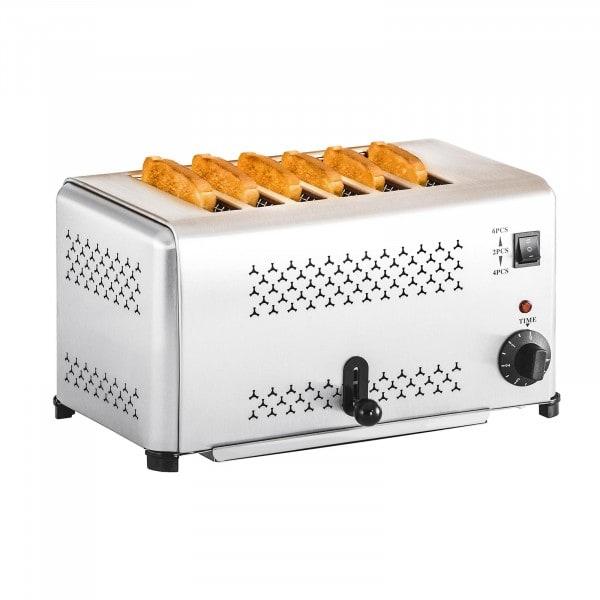 B-Ware Gastronomie Toaster mit 6 Schlitzen