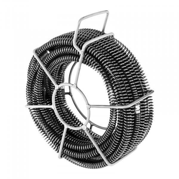 Rohrreinigungsspiralen Set - 6 x 2,45 m - Ø 16 mm