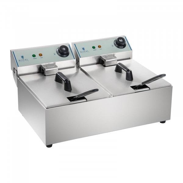 Elektro-Fritteuse - 2 x 10 Liter - ECO