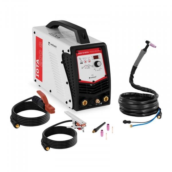 WIG DC Schweißgerät - 200 A - Liftarc/HF - Digital - 230 V - Puls
