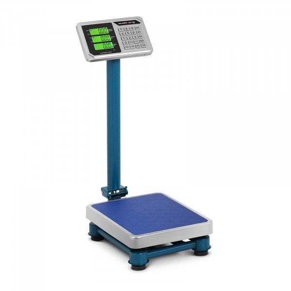 Plattformwaage - 100 kg / 20 g - 40 x 30 cm - LCD - Edelstahl