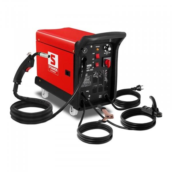 MIG/MAG Schweißgerät - 195 A - 230 V - 4 Räder