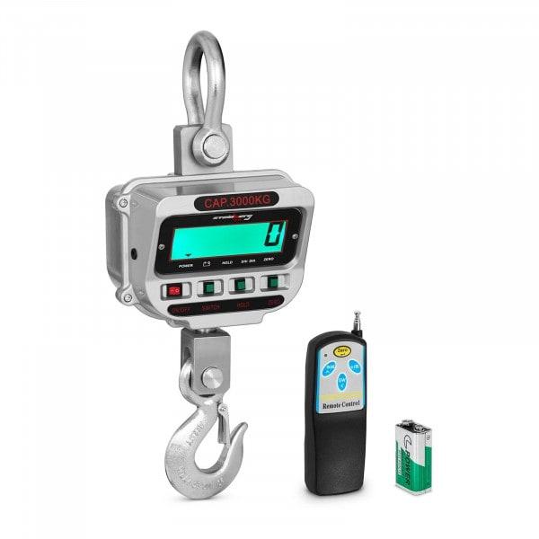 Kranwaage - 3 t / 0,5 kg - LCD