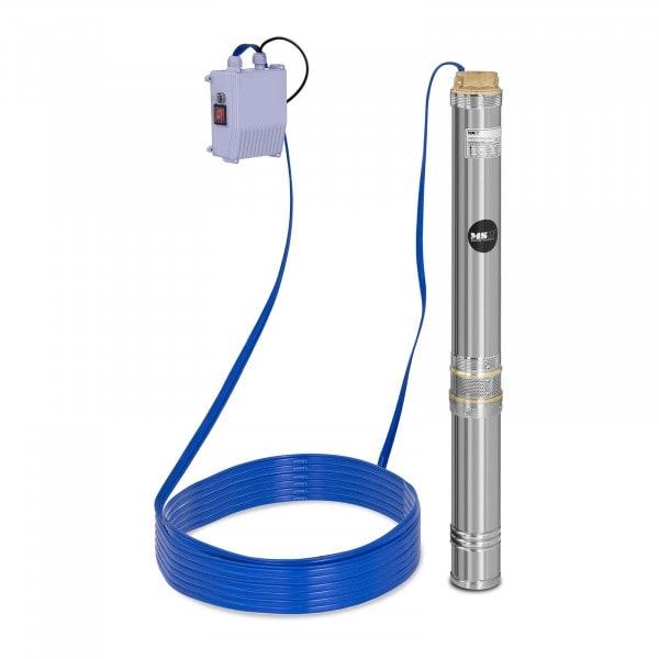 Brunnenpumpe - 10.800 L/h - 1.100 W - Edelstahl