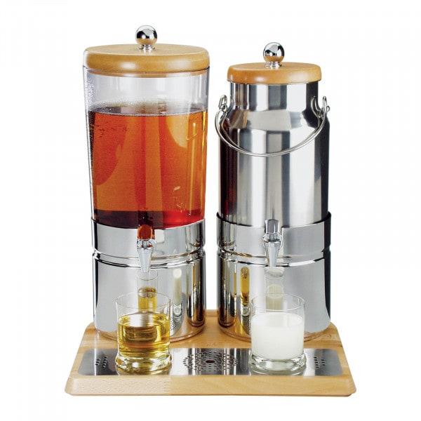 Saft- und Milchspender - 6 + 5 L - Kühlung
