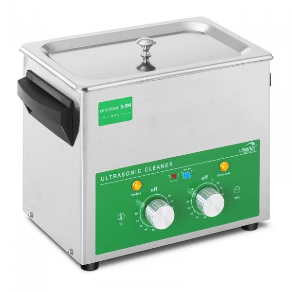 Ultraschallreiniger - 3 Liter - 80 W - Basic Eco
