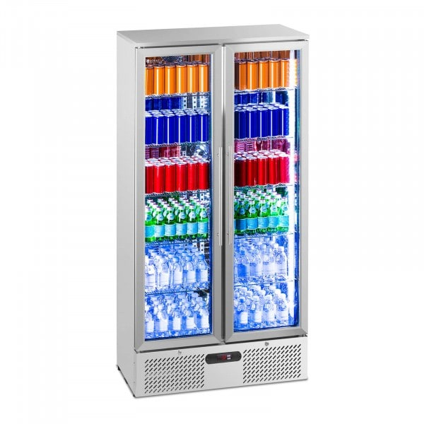Getränkekühlschrank - 458 l - Edelstahl