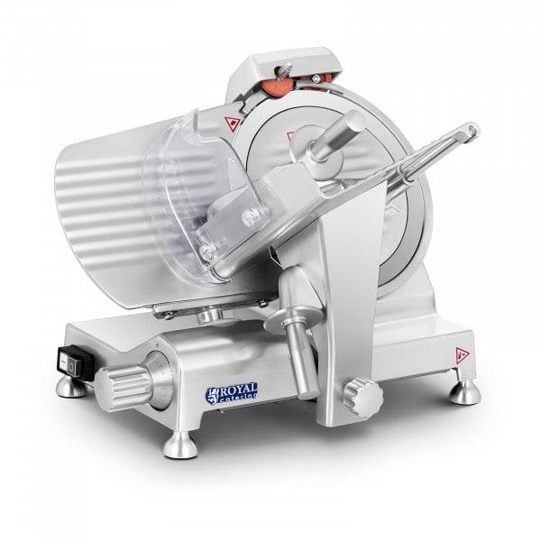 Aufschnittmaschine - 250 mm - bis 12 mm - Alugriffe