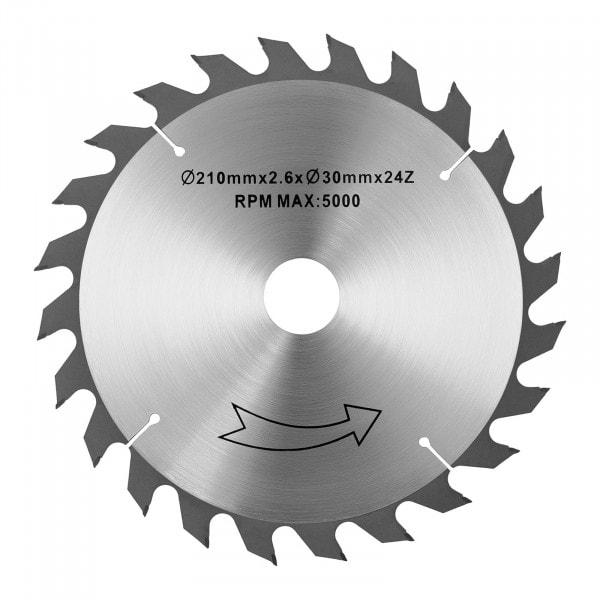 Tischkreissägeblatt - Ø210 mm