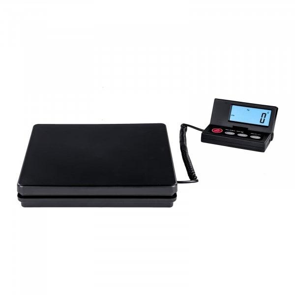 Gesamtansicht von Digitale Paketwaage - 50 kg / 2 g - Basic - externes LCD - 3136 - 1
