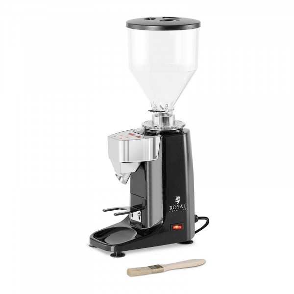 Kaffeemühle - 200 W- 1000 ml- Kunststoff - schwarz - LED