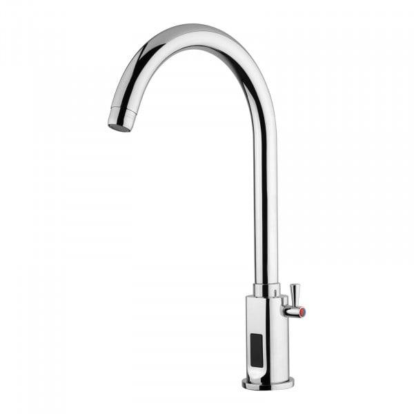 Wasserhahn mit Sensor - verchromtes Messing - Länge Hahn 210 mm