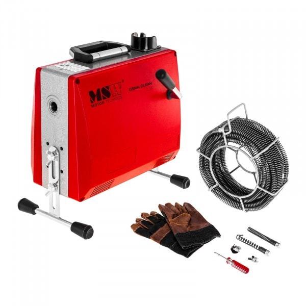 Rohrreinigungsmaschine - 390 W - 400 U/min - Ø 30 - 100 mm