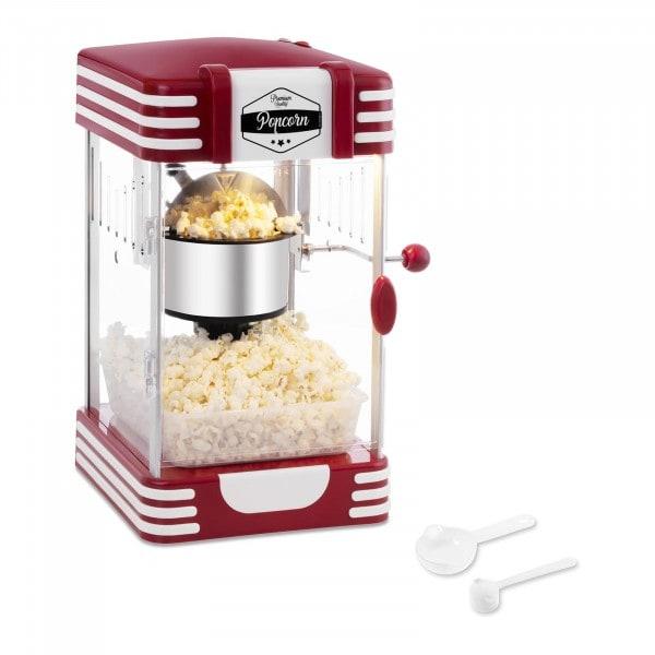 Popcornmaschine - 50er Jahre Retro-Design - rot
