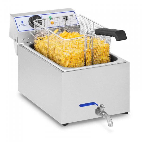 Elektro-Fritteuse - 17 Liter - geeignet für Fisch