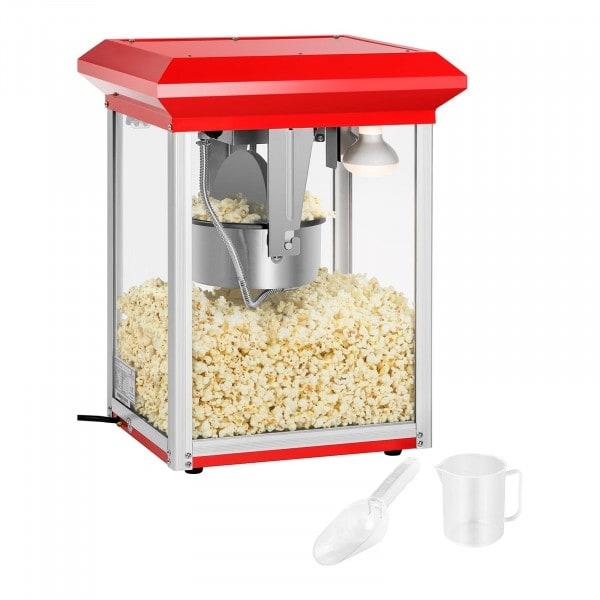 Popcornmaschine rot - 8 oz
