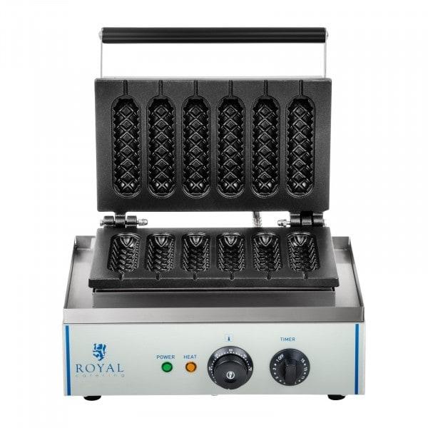 B-Ware Waffeleisen - 1 x 1.500 Watt - Stiel - Corn Dog