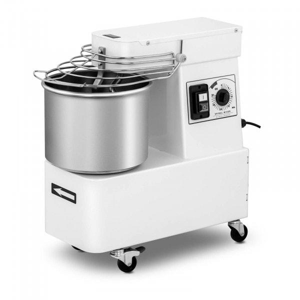 Teigknetmaschine - 10 L - 35 kg/h - 370 W - Kopf und Schüssel fest