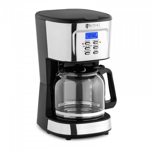 Kaffeemaschine - LCD - Permanentfilter - 1,5 L