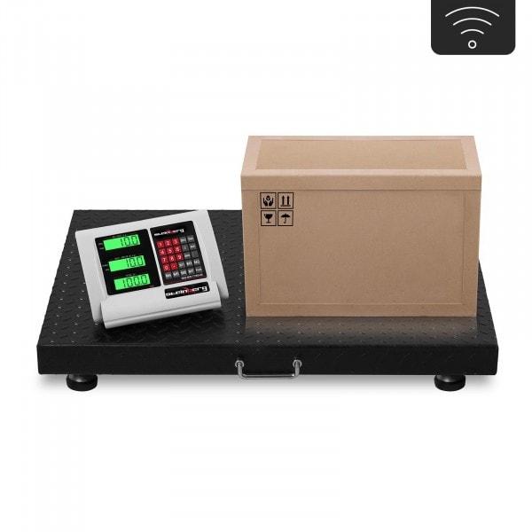 Bodenwaage - 1 t / 200 g - LCD - wireless