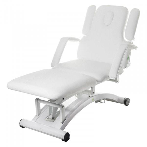 Massageliege elektrisch DIVINE| weiß