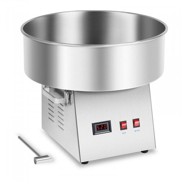 Zuckerwattemaschine - 52 cm - Edelstahl - vibrationsgedämpft