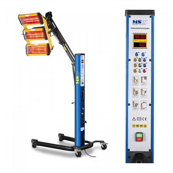 Infrarot-Lacktrockner - 3.300 W - 3 Strahler - Pulse