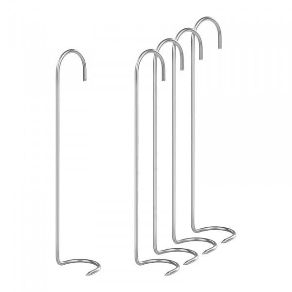 Räucherhaken 5er Set - Krallenhaken