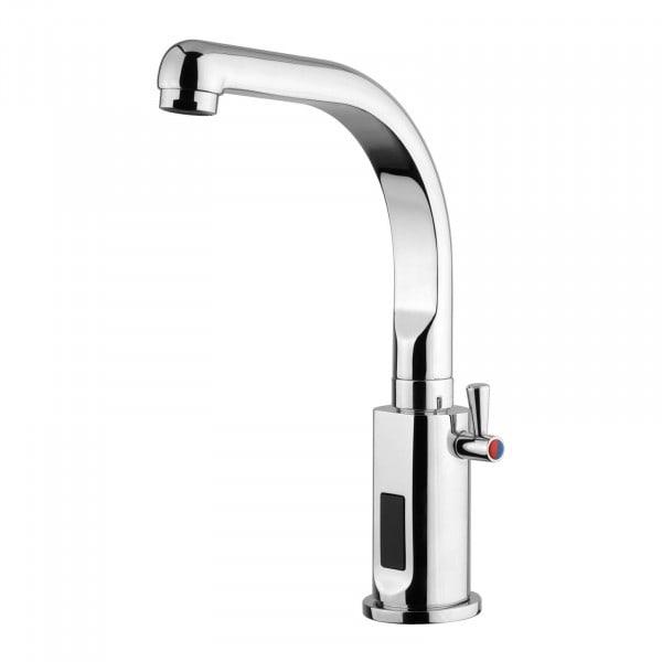 Wasserhahn mit Sensor - verchromtes Messing - Länge Hahn 160 mm