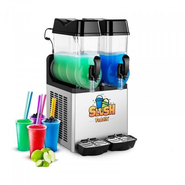 Slush-Maschine - 2 x 12 Liter - LED