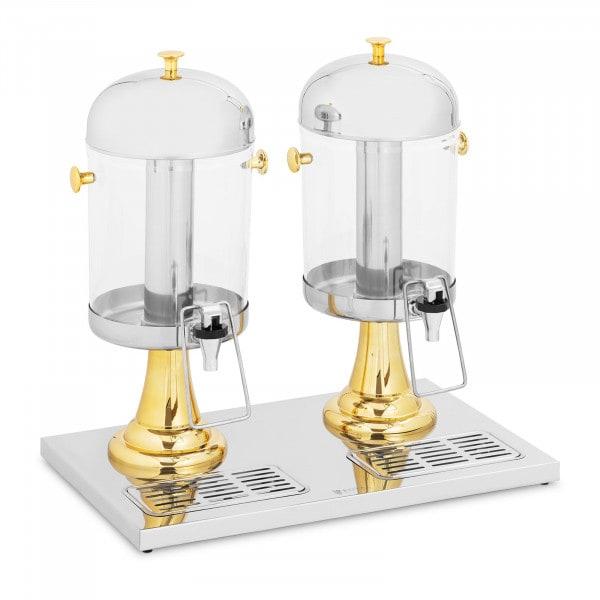 Saftspender - 2 x 8 L - Royal Catering - Kühlsystem