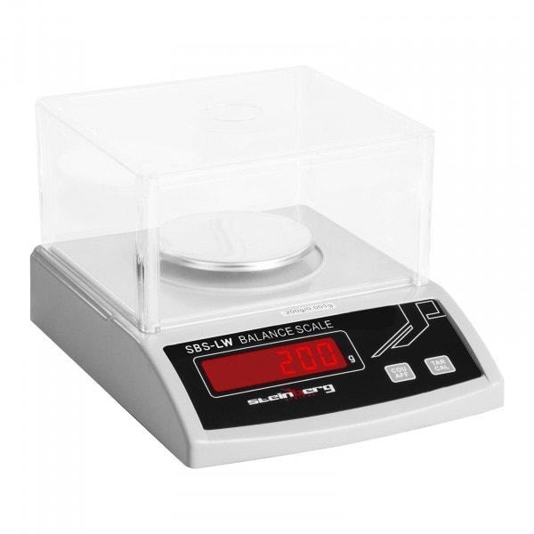 Präzisionswaage - 200 g / 1 mg - weiß