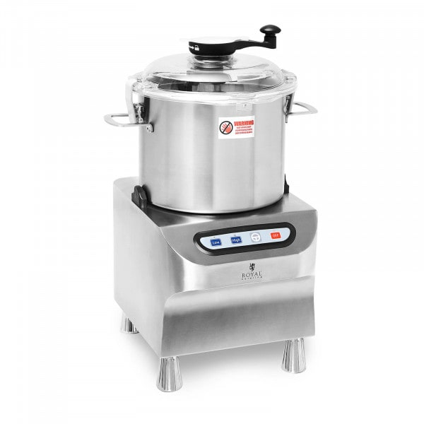 Tischkutter - 1500/2200 U/min - Royal Catering - 12 l