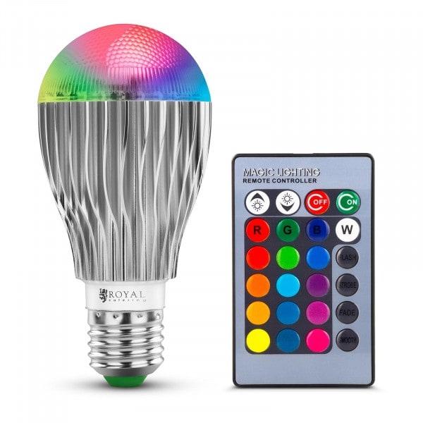 RGB-LED-Lampe mit Fernbedienung - 16 Farbeinstellungen - 5 W