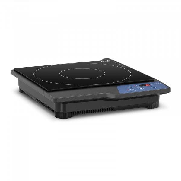 Induktionsplatte - 20 cm - 60 bis 240 °C - Timer - LED
